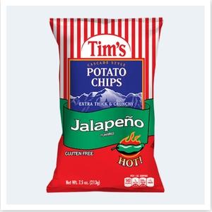 Tim's Cascade Chips Jalapeno